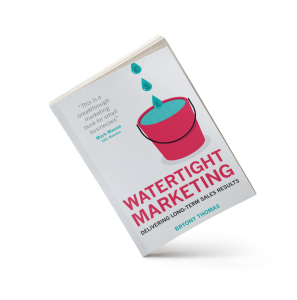 Watertight Marketing by Bryony Thomas - image of book