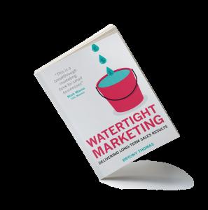 photo of the book Watertight Marketing